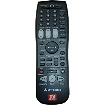 OEM Mitsubishi Remote Control: WD52631 LT52149 WD73734 LT-52149 WD-73734 WD-52631