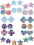 SATINIOR 15 Pairs Nipple Covers Disposable Pasties Self Adhesive Nipple Cover, 4 Shapes