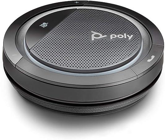 Poly Mobiler Konferenzlautsprecher Calisto 5300 M Mit Usb C Anschluss Voll Duplex Audio Sprachansage Microsoft Teams