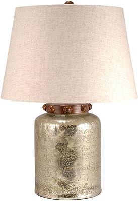 Elk Lighting 981005 Table-Lamps, Antique Wheat, Brindle Copper, Sand