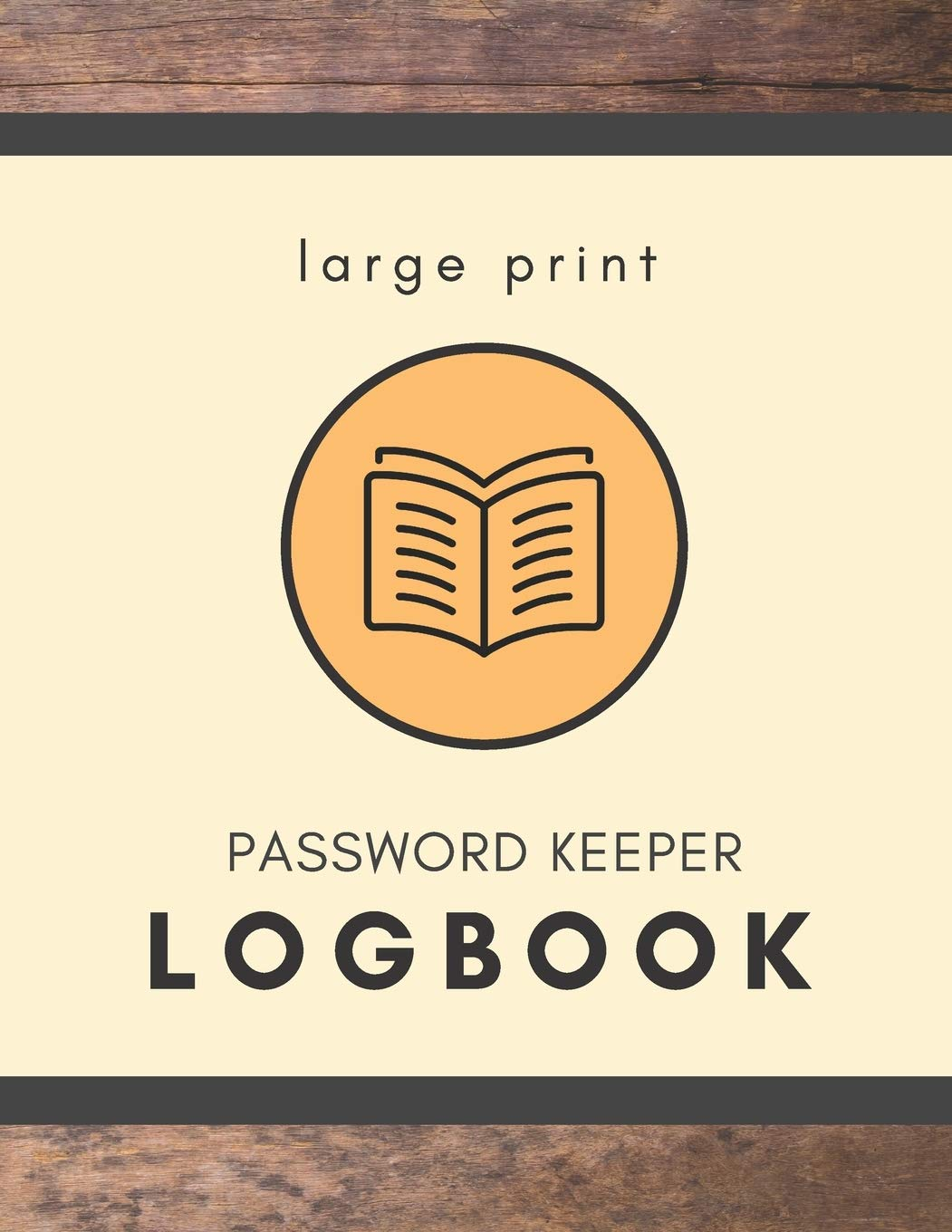 Image OfLarge Print Password Keeper Logbook: Write It Down Internet Username And Password Organizer