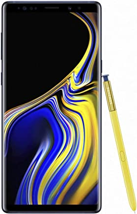 "Samsung Galaxy Note 9 Dual Sim 128GB/6GB Ram Pantalla 6.4"" Camara Dual 12MP+12MP Libre de Fabrica Version Internacional, Azul"