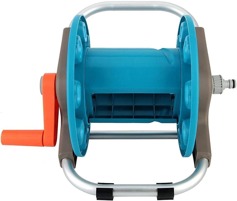 ZDBH G1 2 safety lowest price Water Pipe Garden Hose Trolley Reel Rack Watering Stor