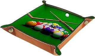 Vockgeng Billard de Table Boîte de Rangement Panier Organisateur de Bureau Plateau décoratif approprié pour Bureau à Domic...