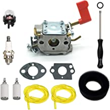 ANTO W32 Carburetor for Zama C1U-W32A Weed Eater 530039235 Homelite Poulan RS32 SM446E PP136E with Tune Up Kits