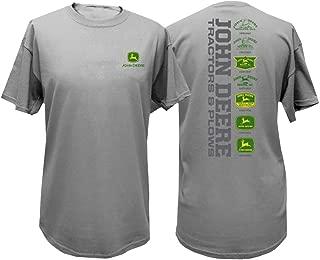 Tractors & Plows Short Sleeve Mens T-Shirt