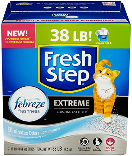 Price comparison product image Fresh Step Extreme Scented Scoopable Cat Litter