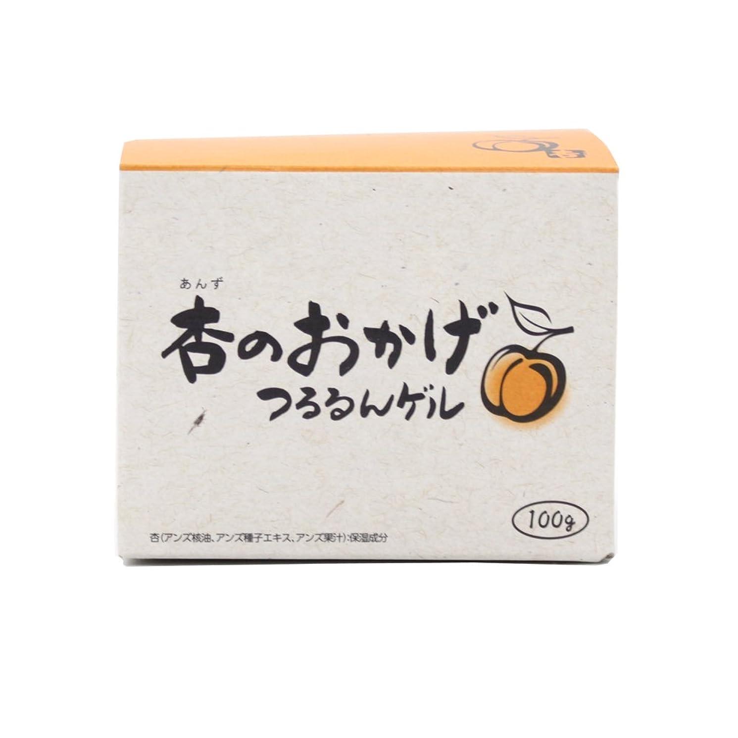 未知の対象ベンチプラセス製薬 杏のおかげ つるるんゲル 100g