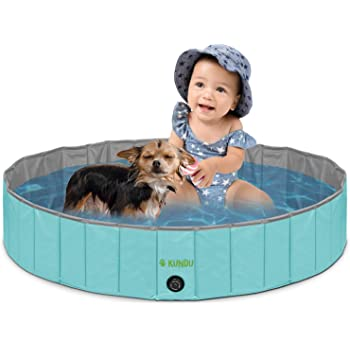 Kundu Round Heavy Duty PVC Outdoor Pool/Bathing Tub - Portable & Foldable