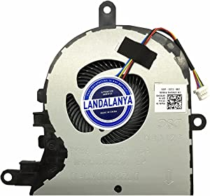 Landalanya Replacement New CPU Cooling Fan for Dell Latitude 3590 L3590 E3590 Inspiron 15 5570 5575 5770 17-3780 3793 5770 Vostro 3580 3590 3591 3593 Series 0FX0M0 DC28000K9D0 DFS1503055P0T FK3A Fan