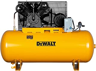 DeWalt DXCMH9919910 Two-Stage Cast Iron Industrial Air Compressor, 120-Gallon