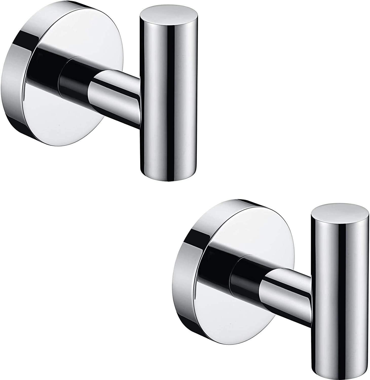 Astede Bathroom Accessories Ranking Sale item TOP19 Set Towel Hooks Pape Bar Ring Toilet