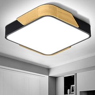 Luminaire Plafonnier Led 24W 2400LM, Dehobo Lampe de Plafond Blanc Froid 6000K, Moderne Mince Carré Luminaires de Plafond ...