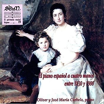 El Piano Español a Cuatro Manos Entre 1830 y 1900