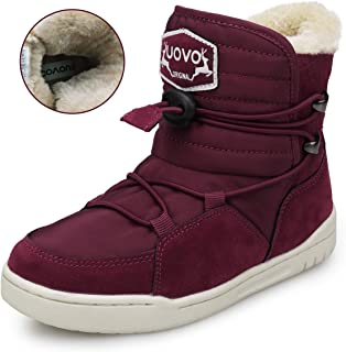 UOVO Boys Shoes Boys Winter Boots Kids Ankle Boots