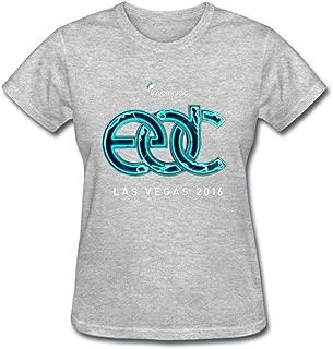 Women's 2016 Electric Daisy Carnival EDC Las Vegas Logo T shirt