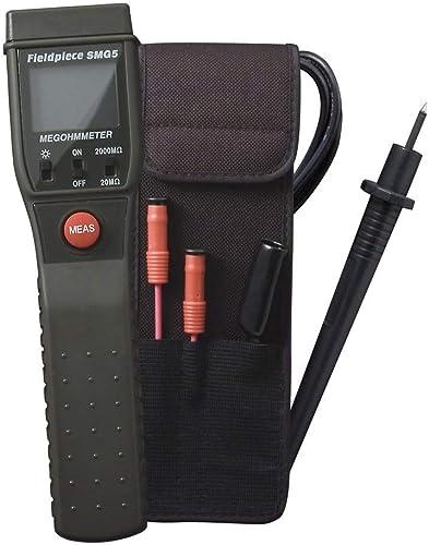 lowest Fieldpiece popular outlet online sale SMG5 Standalone Digital Megohm Meter sale