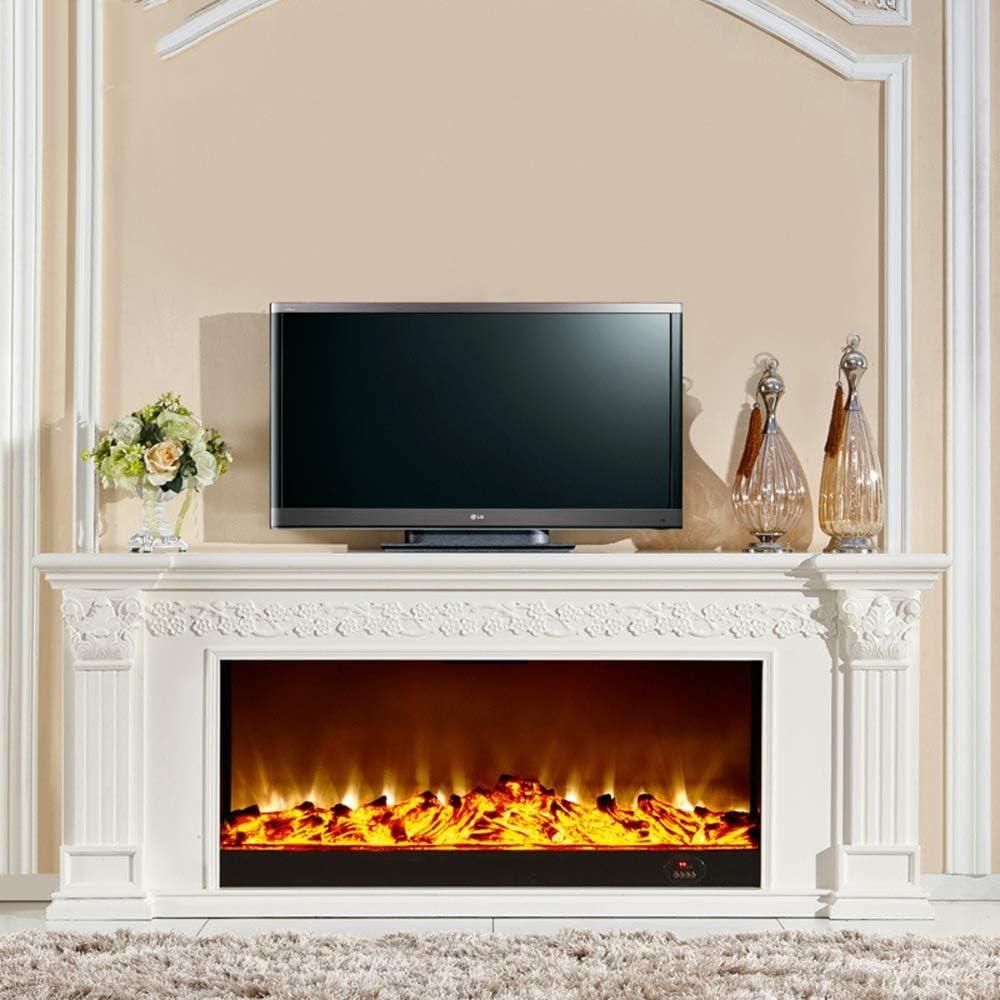 Amazon.com HWLG Fireplace TV Stands,Modern 20D Electric Fire ...