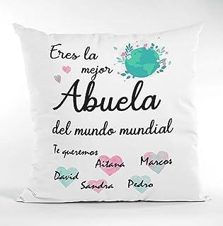 Cojín Personalizado Abuela Mamá Día de la madreRegalo Original