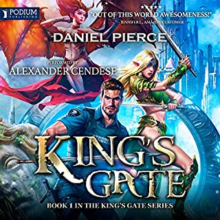 King's Gate                   By:                                                                                                                                 Daniel Pierce                               Narrated by:                                                                                                                                 Alexander Cendese                      Length: 8 hrs and 12 mins     4 ratings     Overall 4.3