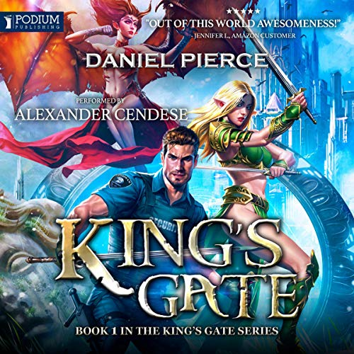 King's Gate                   By:                                                                                                                                 Daniel Pierce                               Narrated by:                                                                                                                                 Alexander Cendese                      Length: 8 hrs and 12 mins     114 ratings     Overall 4.1