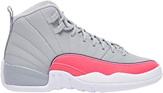 jordan 12 pink and grey