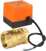 """G1-1/2 """"DN40 AC 220V 6W 2 Way 3 Wire Messing Gemotoriseerde Kogelklep Elektrische Klep voor de Ventilatorspoel en het Wate..."""
