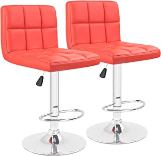 Best red bar stools cheap Reviews