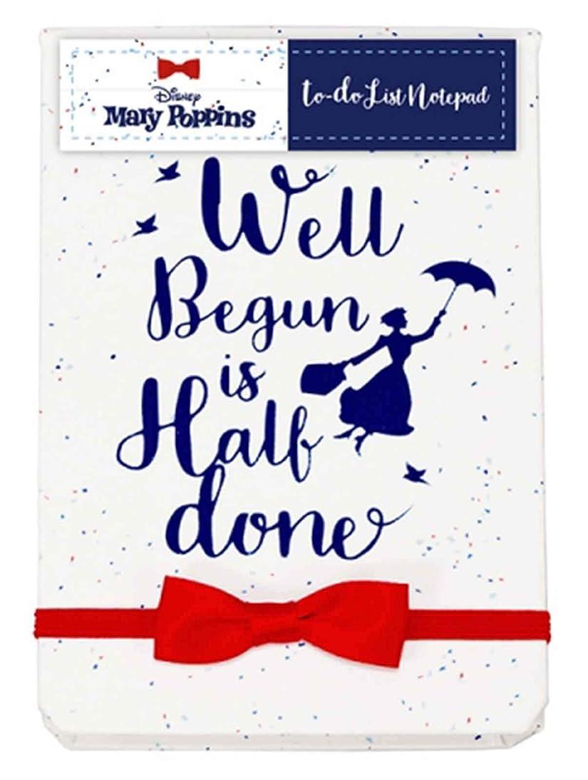 種類ドール知覚的Mary Poppins Notebook To Do List Well Begun Is Half Done 新しい 公式