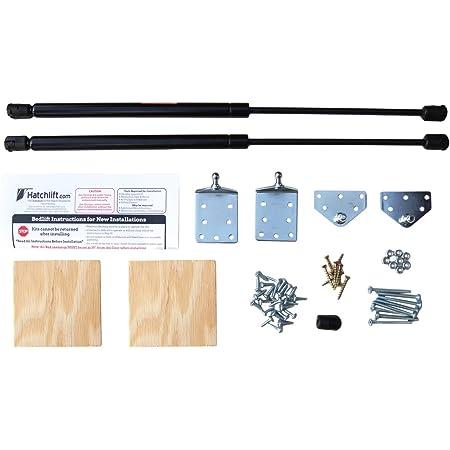 Hatchlift Products RV Bedlift Kit - Queen LITE – Foam/Lightweight Mattress