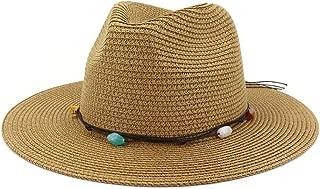 Bin Zhang Handmade Knitted Patchwork Straw Hat For Women Summer Hats Elegant Ladies Wide Brim Floppy Foldable Beach Sun Hat Caps