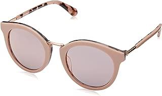 Kate Spade Women's Joylyn/s Round Sunglasses, Pink Havana, 50 mm