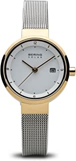 BERING Time 14426-010 Womens Solar Collection Watch with Mesh Band and Scratch Resistant Sapphire Crystal. Designed in Denmark.