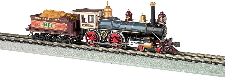 servicio honesto Bachmann Industrias vapor 4 4-0American DCC Sound Valor Valor Valor Union Pacific   119madera Cochega locomotora (escala HO)  Centro comercial profesional integrado en línea.