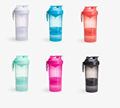 Smartshake Original2Go New Design Shaker Bottle with Storage Compartments Blue 600 ml Estimated Price : £ 16,12