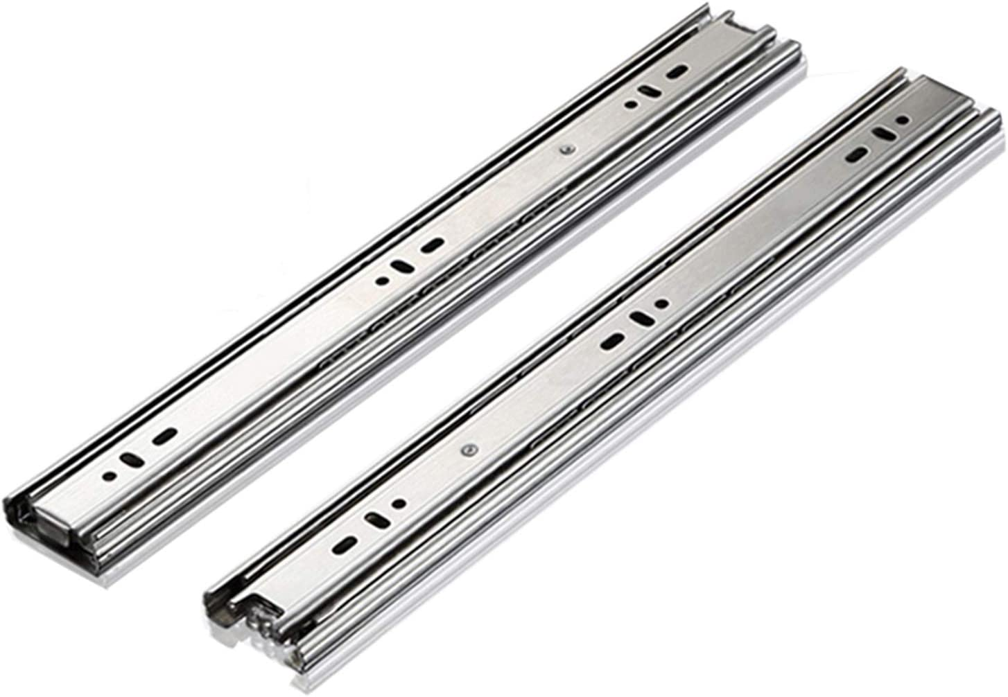 YYQ 1-Pair mart Runners Slides for Drawer 200mm 250mm Side Mail order 8in Mount