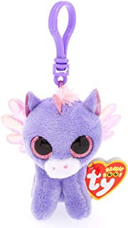 Claire's Ty Beanies Girl's Ty Beanie Boo Athena the Pegasus Keyring Clip