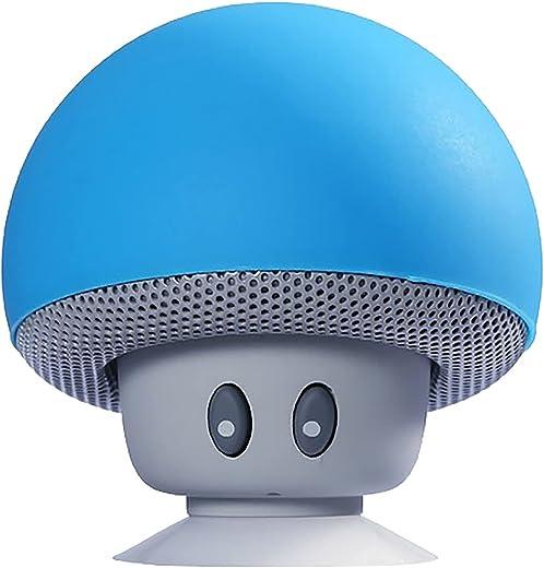 Tragbarer Bluetooth-Lautsprecher, Mini-Wireless-Lautsprecher Mit 360°-Sound, Kreative Kleine Pilzform Multifunktions-Bluetooth-Lautsprecher, Klarer…