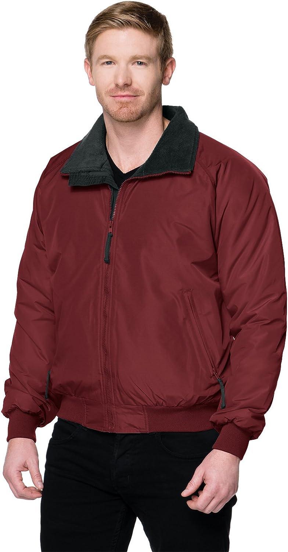 Tri-Mountain Men's 8800 Mountaineer Three Season Jacket Maroon