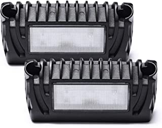MICTUNING RV Exterior LED Porch Utility Light 12V 750LM Each Replacement Lighting for RVs Trailers Campers Pack of 2