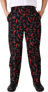 Nanxson Chef Pants Uniform Unisex Men's Hotel/Kitchen Elastic Waist Work Pants Trousers CFM2010