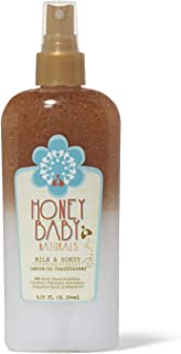 HONEY BABY Naturals Milk and Honey Leave In Conditioner, 8.25 Ounce