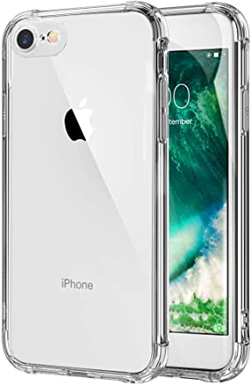 5774345d54 iPhone 7 iPhone8 ケース クリア 耐衝撃 透明 ソフト TPU 耐久 シリコン アイフォン8 ケース アイフォン7 ケース 超軽量  薄型 防塵 Qi充電対応 黄変防止 おしゃれ 指紋 ...