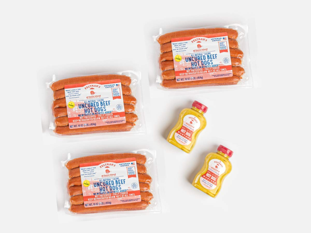 Bundle - Feltman's Original In stock Hot Dogs Luxury goods 3 18 and dogs F hot Pack