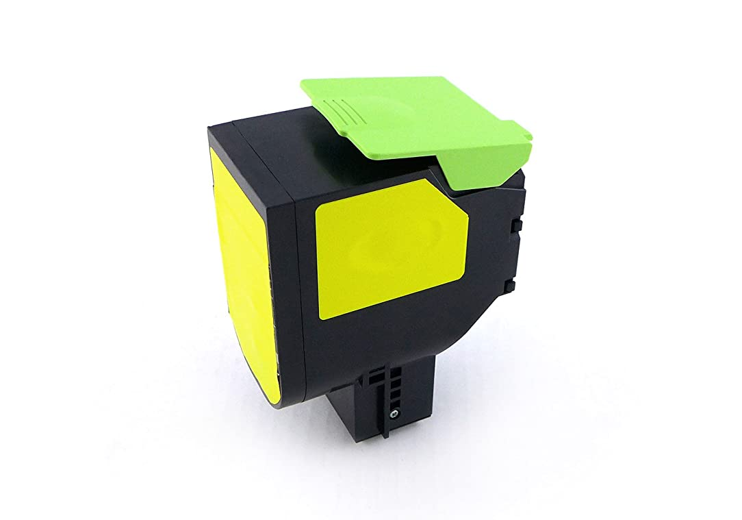Green2Print Toner Yellow, 2000 Pages, Replaces Lexmark 80C0S40, 800S4, 80C1SY0, 801SY, Toner Cartridge for Lexmark CX310N, CX310DN, CX410DE, CX410DTE, CX410E, CX510DE, CX510DHE, CX510DTHE