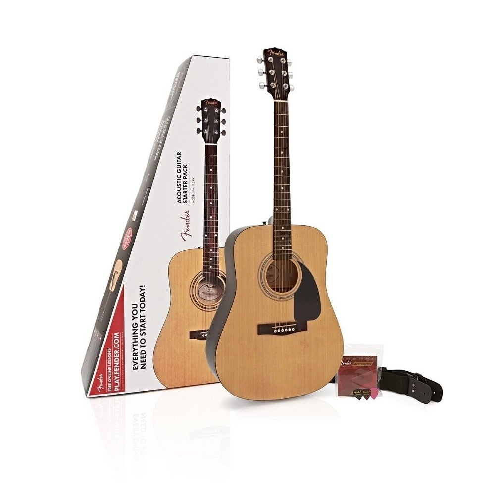 FA-115 Dreadnought Pack NAT Natural: Amazon.es: Instrumentos musicales