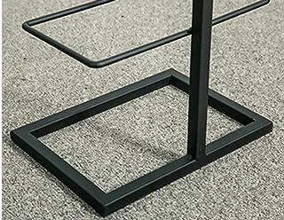 SILOLA Support de Rangement pour Chaussures Noir Support de Rangement en Fer Boîtes de Rangement pour Chaussures à Faible ...