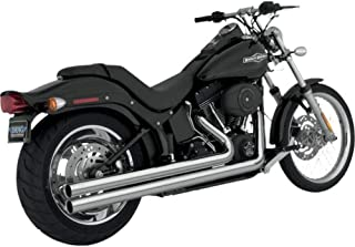 Vance and Hines Big Shots Long Chrome Full System Exhaust for Harley Davidson 1 - One Size