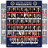 All Presidents of the united states Of America poster NEW BIDEN chart LAMINATED Classroom school decoration learning history usa 15x20