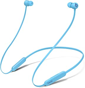 Beats Flex Wireless Portable Bluetooth Earbuds Built-in Microphone - Flame Blue (Renewed)